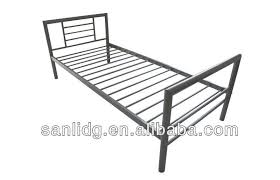 Iron Single Bed Frame Single Metal Bed Simple Bed Frame Design With Wood Or Metal Slats