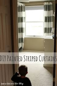 Navy Blue And White Striped Curtains by Home Decoration Gorgeous White And Golden Horizontal Striped