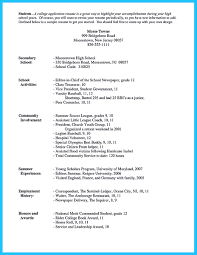 Resume With Community Service Best Current College Student Resume With No Experience