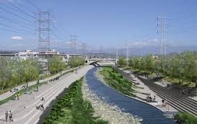 Los Angeles River Map by Will The Los Angeles River Become A Playground For The Rich The