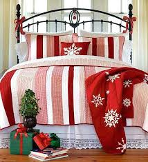 Christmas Duvet Cover Sets Holiday Bedding Quilts Noel Snowflake Reindeer Grey White