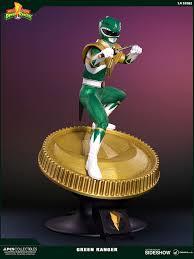 green power ranger 1 4 scale statue pop culture shock
