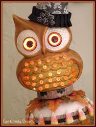 Vintage Owl Lights by Sweet Eye Candy Creations Welcome Fall