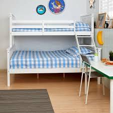 FoxHunter Bunk Bed Wooden Frame Children Triple Sleeper No - Triple bunk bed wooden
