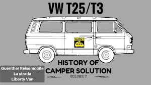 volkswagen van cartoon vw t25 t3 vol 7 guenther la strada liberty van camper