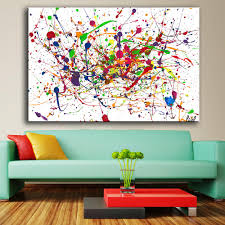 Large Artwork For Wall by Online Get Cheap Pollock Print Aliexpress Com Alibaba Group