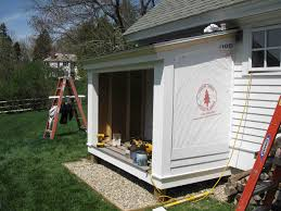tips for building a house building a firewood shed a concord carpenter