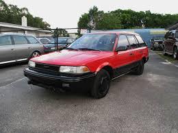 toyota corolla hatchback 1991 1991 toyota corolla deluxe 4dr wagon in ta fl ove car trader corp
