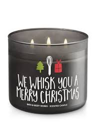 we whisk you a merry candle 25 bath works