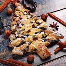cuisine az noel sapin feuilleté de noël au nutella