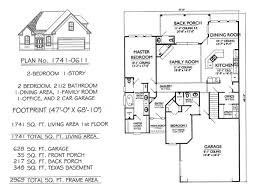 2 story floor plans with garage narrow 1 story floor plans 36 to 50 wide