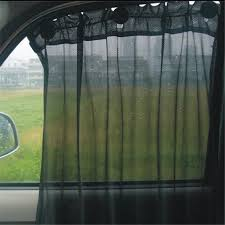 set of 2 sunshade curtains roller blinds car van 42cm x 47cm