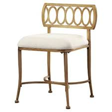 Silver Vanity Chair Accent U0026 Vanity Stools Joss U0026 Main