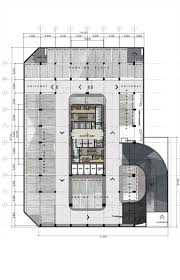 architectural layouts office modern building pencil and in color office