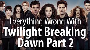 everything with the twilight saga breaking part 2