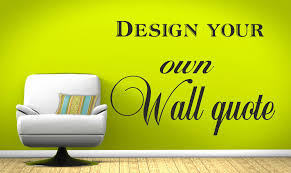 Wall Stickers Design Your Own Home Design Ideas - Design your own wall art stickers