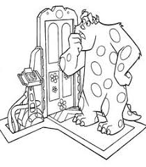 monsters inc coloring pages coloring pages pinterest
