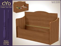 Design Your Own Toy Chest by Cyo Toy Box Bench Full Perms Mesh Photoshop File Sluniverse