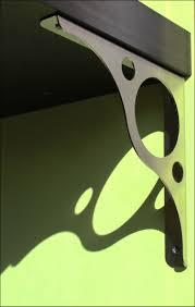 furniture heavy duty wrought iron brackets cast iron shelf