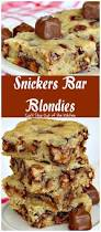 snickers bar blondies can u0027t stay out of the kitchen these
