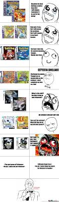 Pokemon Game Memes - pokemon games through the age by blackzerooblivion meme center