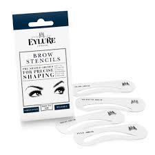 How To Arch Eyebrows Eylure Brow Stencils Pre Shaped Arches For Precise Shaping
