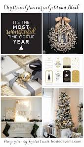 Home And Garden Christmas Decorating Ideas by Best 20 Black Christmas Trees Ideas On Pinterest Black