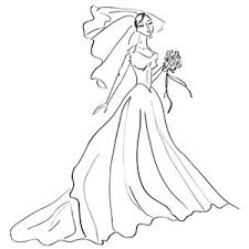 wedding dress coloring pages wedding dresses yellow pages junoir bridesmaid dresses