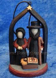 amish nativity ornament yonder shop llc