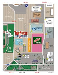 State Fair Map by Event Map