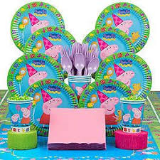 peppa pig party supplies peppa pig party supplies decorations and ideas