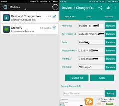 device id android how to change mac address android devices spoof mac address