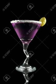 martini drink purple martini drink stock photo picture and royalty free image