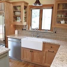 kitchen backsplash with cabinets and light countertops how backsplash tile will make or your kitchen