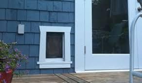 Exterior Cat Door Cat Doors Freedom Pet Pass