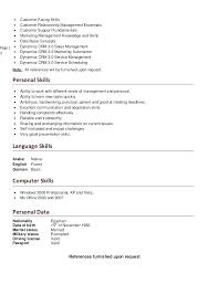 computer skills on resume exle excel basic skills topbump club