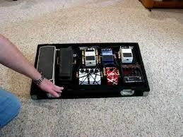 pedal board ideas youtube