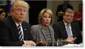 trump education dept reverses obama policy will not consider