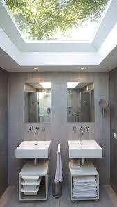 Bathroom In Loft Conversion Grey Bathroom Double Sinks U0026 Showers Unique Loft Conversion In