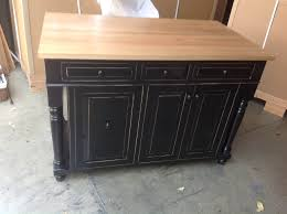 Wood Top Kitchen Island by Kitchen Island On Wheels On A Budget Kitchen Islands Wheels