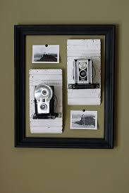 Picture Frame On Wall by Hang A Large Vintage Old Picture Frame On The Wall And Inside Hang
