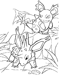 printable pokemon coloring book pages
