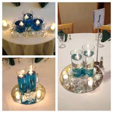 diy inexpensive centerpieces for parties add food coloring to