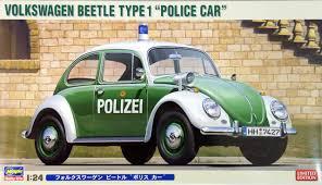 volkswagen type 1 hasegawa 20251 volkswagen beetle type 1 police car polizei 1 24