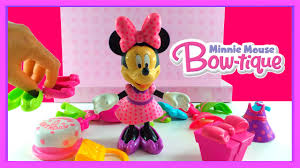 Minnie Mouse Bowtique Vanity Table Disney U0027s Minnie Mouse Birthday Bow Tique Dress Up Play Set By