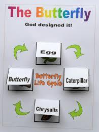 bible fun for kids god makes the butterflies for preschool