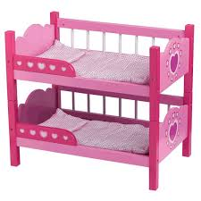 Bunk Bed For Dolls Dolls World Wooden Bunk Beds Mr Toys Toyworld