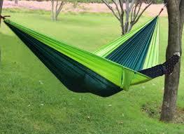 2018 parachute 2 people sleeping hammock outdoor hiking camping