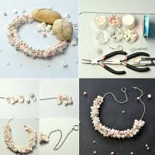 tutorial necklace making images 50 easy tutorials for diy necklaces that are perfect for holiday jpg