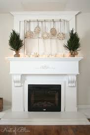 Christmas Decoration For A Fireplace by 25 Winter Fireplace Mantel Decorating Ideas